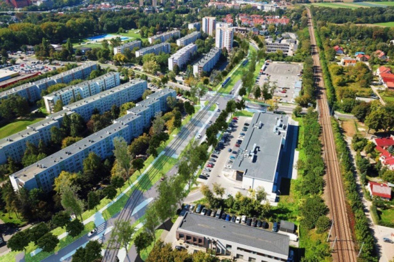Rozbudowa Krakowa